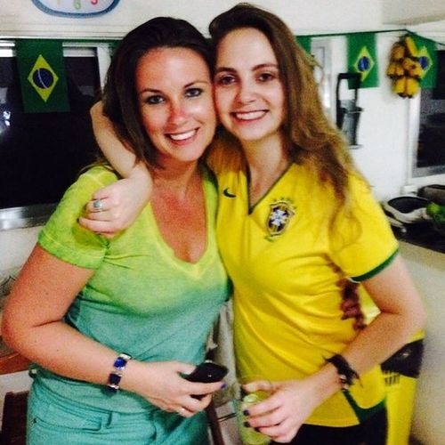 Porque Wenzel que é Wenzel torce junto!! FamíliaWenzel Primas Amomuito Lapahostel riodejaneiro brazil worldcupfifa2014
