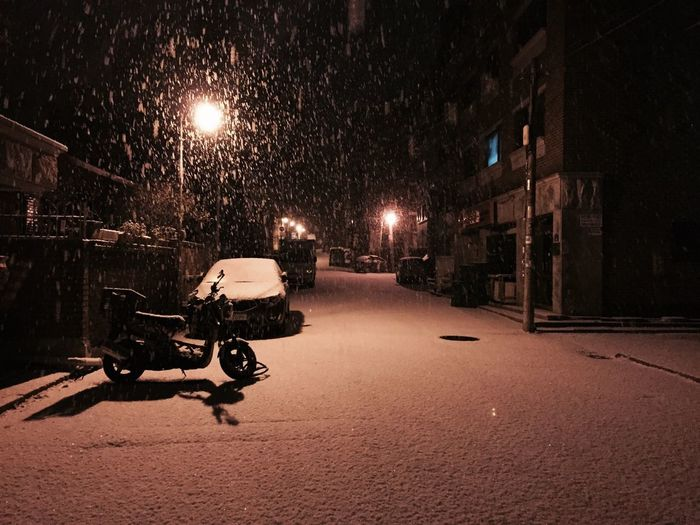 Street Snow Snowing Relaxing Good Night Taking Photos Enjoying Life Hey There :)