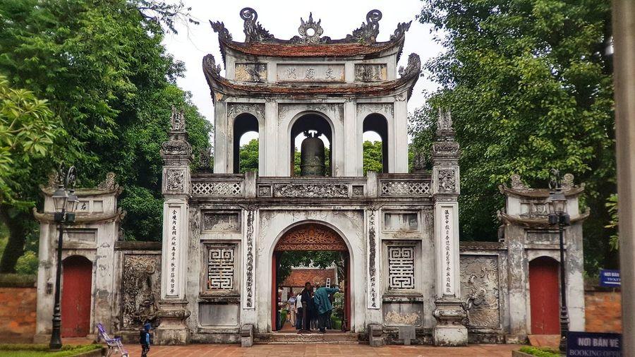 Văn Miếu - Quốc Tử Giám Built Structure Tree Triumphal Arch History Architectural Column