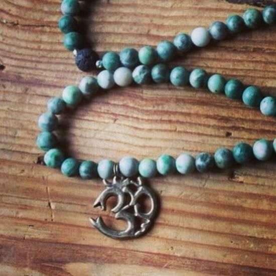 Jade Hindui Buddhism Mala