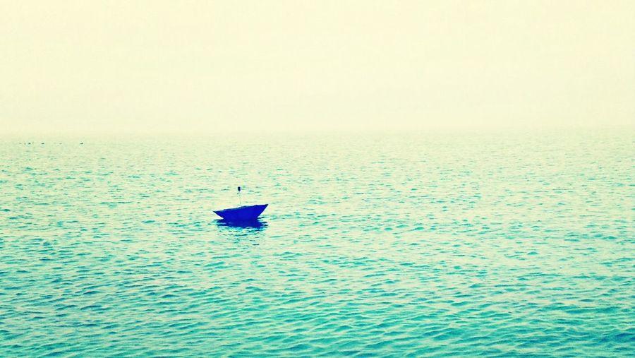 Umbrella in the ocean? Umbrella Blue Ocean