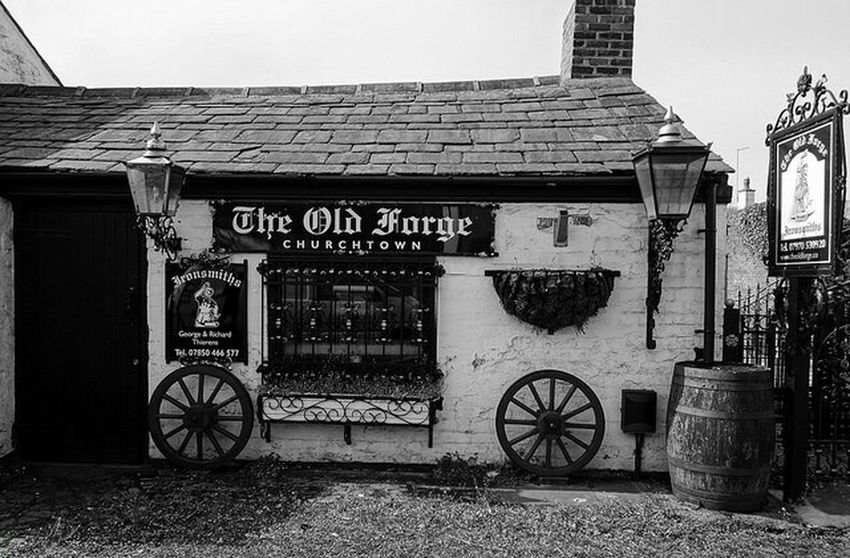 Old blacksmith's shop, Southport.