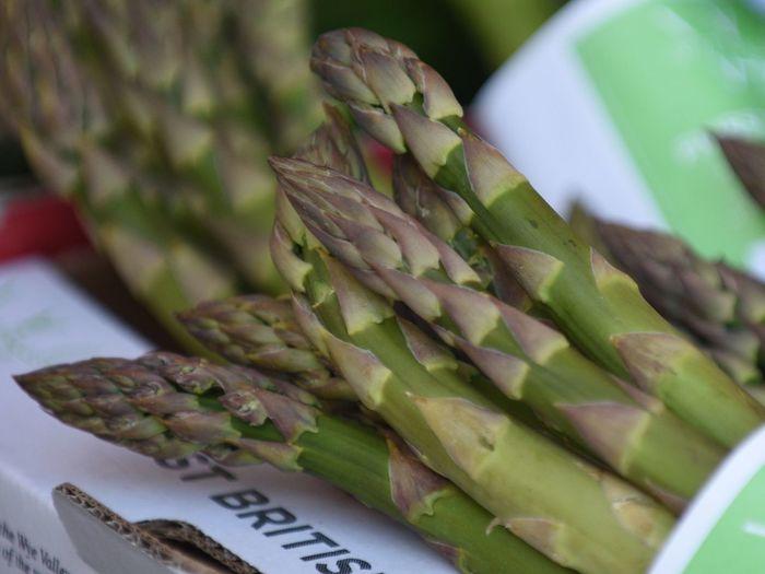 Detail shot of artichokes