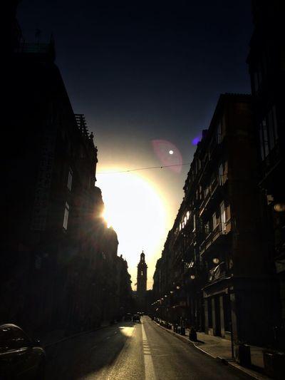 Streetphotography Golden Hour