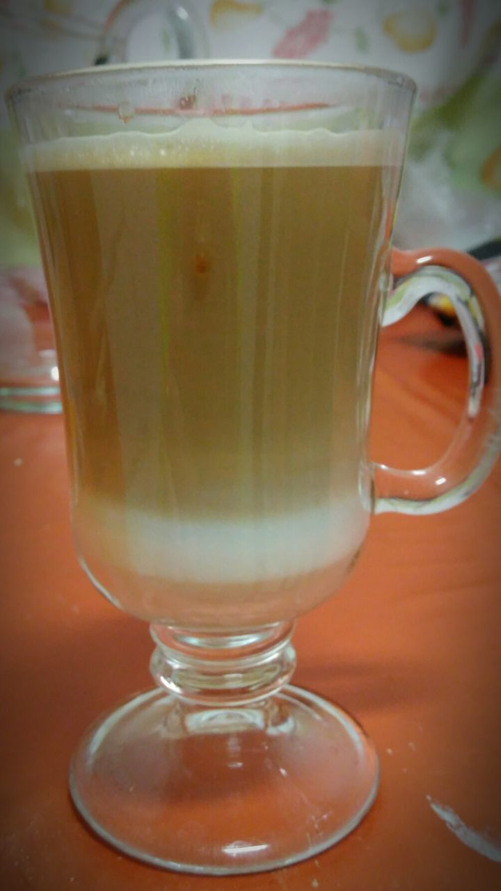 drink, food and drink, drinking glass, refreshment, coffee - drink, healthy eating, freshness, milk, table, close-up, no people, indoors, frothy drink, food, day