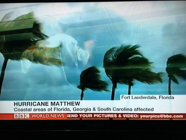 Winds of hurricane Matthew never seen before Hurricane