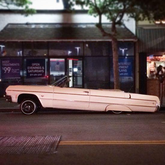 Lowrider Old Car Impala Drop Top 64