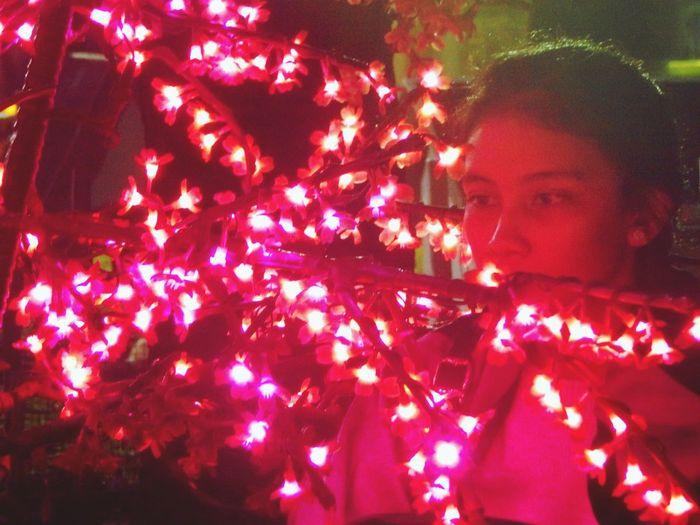 Lamp Festival Lights Red Firstyir Lovely INDONESIA Monjali Samsung J7 Photography Yogyakarta, Indonesia