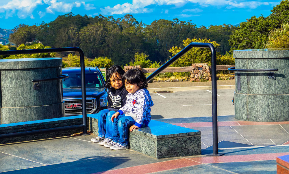 Child Childhood Children Only Day Friendship Full Length Human Body Part Outdoors People Playground Togetherness Two People