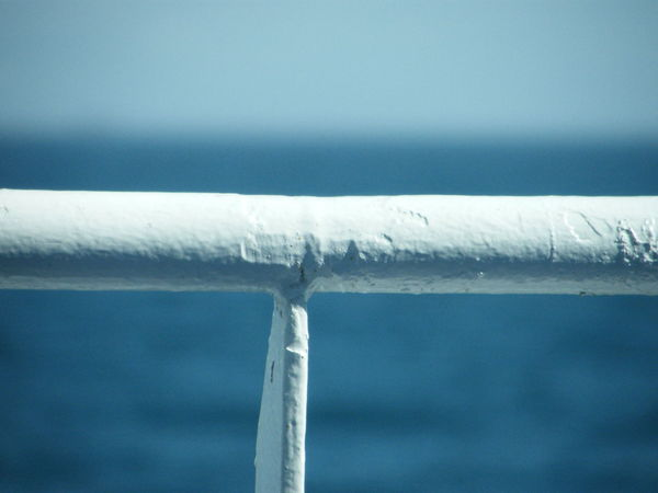 Beauty In Nature Close-up Cold Temperature Day Ice Nature No People Outdoors Railing Sea Voyage Ship Ship At Sea Sky Snow Water Weather Winter