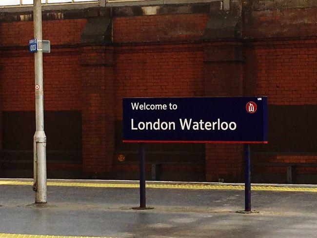 London waterloo Sign London Station Waterloo Station No People Information Sign Mode Of Transportation Travel Arrow Symbol