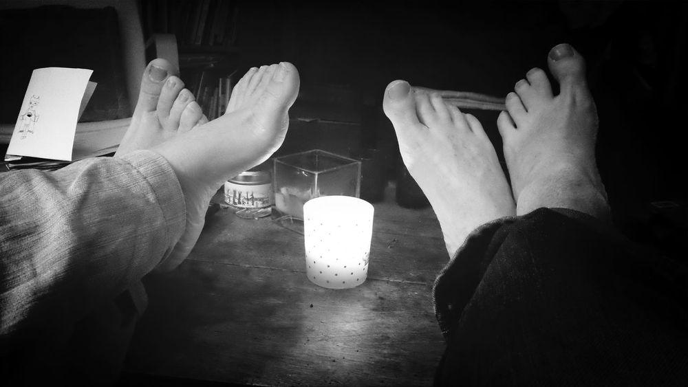 Bnw_friday_eyeemchallenge Black And Light Enjoying Life Candle In The Night