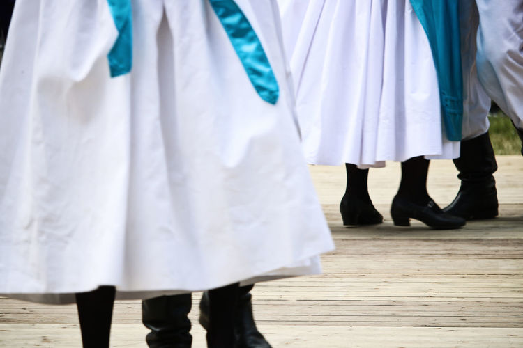 Polonia-Tag 2018 - Fest am Rathaus Reinickendorf Berlin Berlin Dance Dancing Polonia  Traditional Culture Traditional Clothing Celebration Event Dancers Feet Festival Folk Folklore Midsection Musician Polish Traditional Costume Traditional Festival