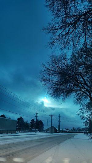 Yoooooo, I impress myself sometimes.. Blue Sunrise