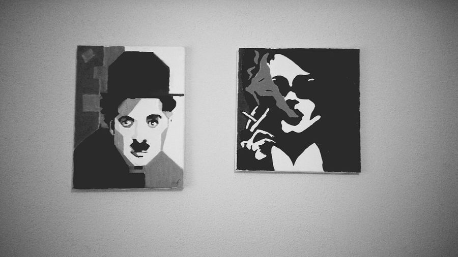 ArtWork Art Drawing MarlaSinger Fightclub Charlie Chaplin Hi! Hello World Check This Out Taking Photos