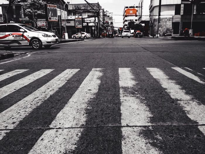 Cross the street here or else pay the fine.. Eyeem Philippines Philippines Cagayan De Oro City City Of Golden Friendship
