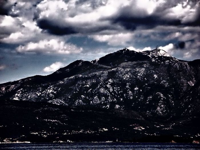 Black Clouds over Black Mountain is The Story Behind The Picture for Montenegro Enjoying The View of its Landscape Nature On Your Doorstep EyeEm Nature Lover Open Edit EyeEm Best Edits