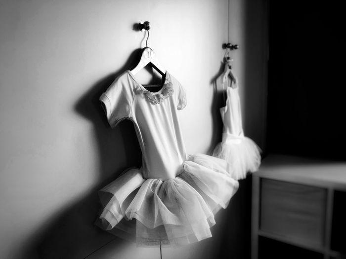 ready for the show Ballet Dancer Ballet Studio Ballet Blackandwhite Black And White Coathanger Hanging Close-up Dance Studio The Mobile Photographer - 2019 EyeEm Awards