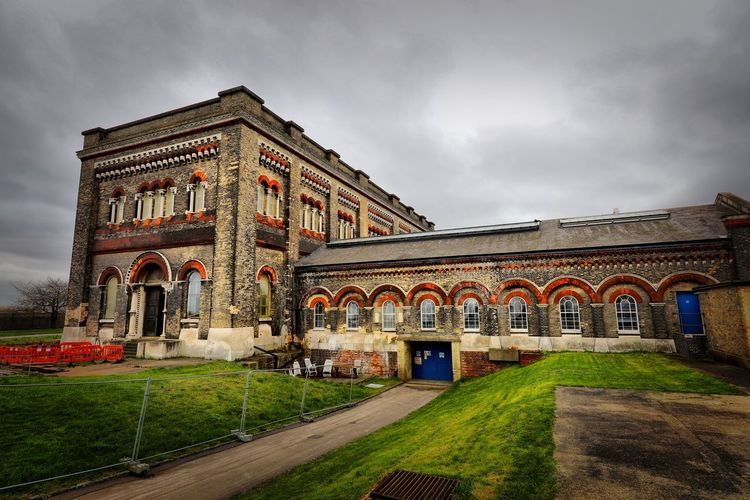 Crossness Pumping Station Built Structure Architecture Building Exterior Sky Cloud - Sky Nature Arch