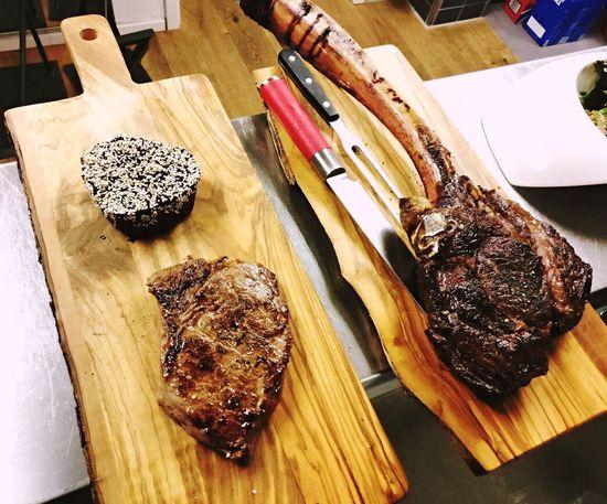 Tomahawk Steak Hochrippe FiletFood Freshness Food And Drink Felix First Eyeem Photo