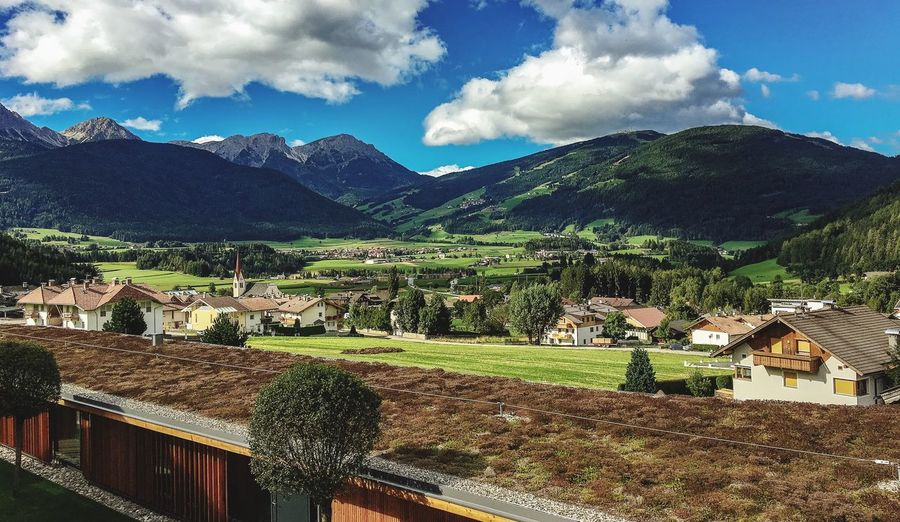 Mountain High Angle View Cloud - Sky Sky Scenics Italia Val Pusteria Tranquil Scene Non-urban Scene Tranquility Summer Relaxing Moments Relaxing Time Rem📸 Photography My Favorite Place