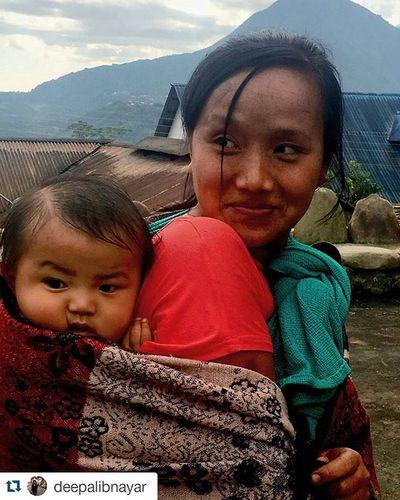 Mima Village by Deepali Nayar Repost @deepalibnayar with @repostapp and @india.trail ・・・ Sisterandbabybrother Cutie Beautifulpeople Smiles Mima Nagaland Roadtrip IndiaTrail