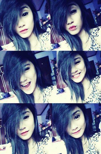 From blonde to black hair ;)) Venus Purpleroom Smile
