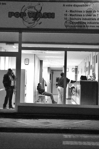 Streetphotography Black And White Street Photography Black & White Doing Laundry Streetphoto_bw Washing Machine Streetphotography_bw Laundrette