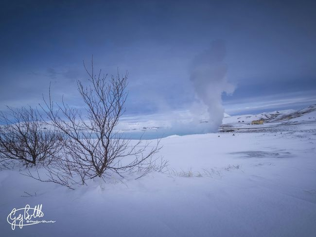 Where clouds are made. geothermal sub station at the foot of Kafla volcano. Iceland Myvatn EyeEm Best Shots - HDR EyeEm Best Shots - Landscape EyeEm Masterclass Snow Landscape Trip Photo EyeEm Best Shots Cloud And Sky