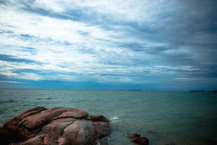 sea and blue