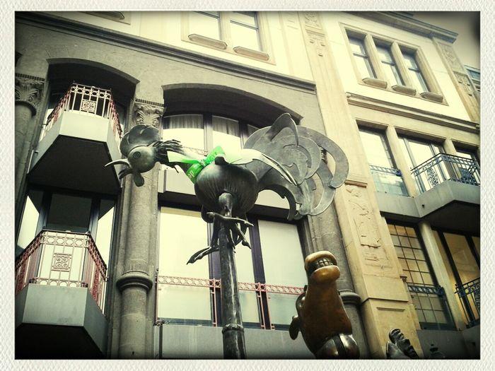 Aktion Tourguiding Storytelling zum heutigen Tag der Kinderhospize #Aachen mit @geosurfen