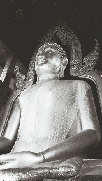 Big Buddha Statue at Auangthong Buddha Buddhism Buddhist Temple Buddha Statue Temple Temple - Building Temple Thailand Big Statue Blackandwhite Black And White Statue