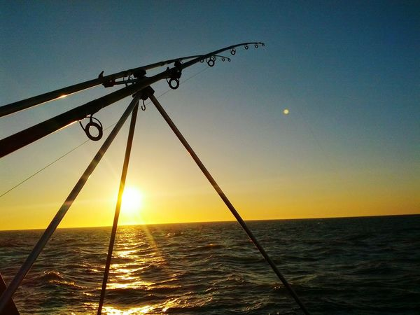 Fishing Sunset Westgate