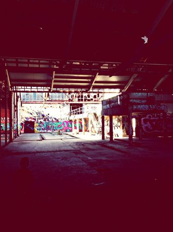 Abandoned Graffitti
