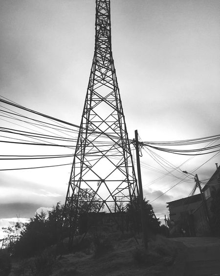 Cable Electricity Pylon Tower Sky Connection Built Structure No People First Eyeem Photo