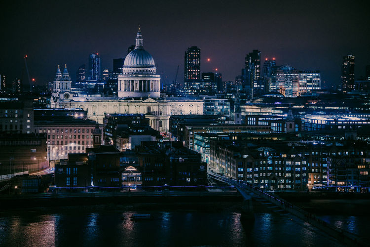 One of these nights 1 Building Exterior Architecture Built Structure City Travel Destinations Iconic Iconic Buildings Iconic London Saint Paul's Cathedral Illuminated Nightphotography Night Lights Night Photography EosR Canoneosr darkness and light Darkart Cityscape London London_only Building Water No People River Tourism