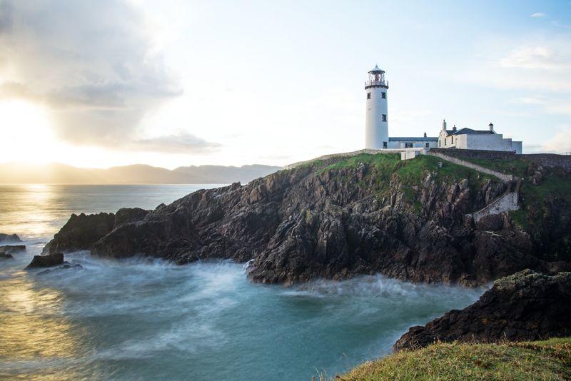 Fanad Head Lighthouse Ireland Sunrise