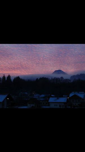 Mountain Sky Nature Beauty In Nature Outdoors Cloud - Sky No People Austrianphotographers Foggy Morning Colorful First Eyeem Photo Sunrise First Eyeem Photo Mittagskogel