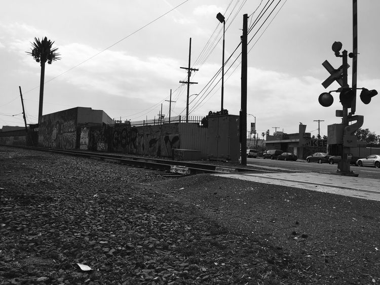 Slauson Losangeles Carifolnia America Railroad Black Wite Investing In Quality Of Life