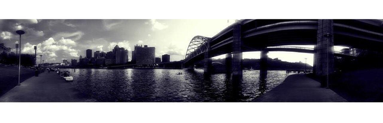 Gotham. Cityofbridges Pittsburgh Blackandwhite Photography