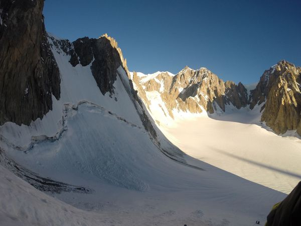 Monte Bianco Mont Blanc Courmayeur Alpinism Snow Val D'Aosta Alps Tour Ronde Outdoors Nature Sunlight