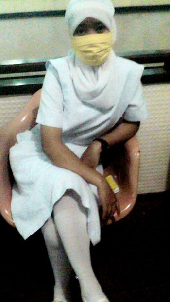 NurseOnDuty White Uniform That's Me :)