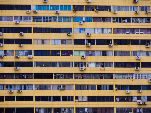 Peoples Park Complex Apartment Architecture Balcony Building Built Structure City City Life Façade Full Frame In A Row Multi Colored No People Peoplespark Repetition Residential Building Residential Structure Singapore