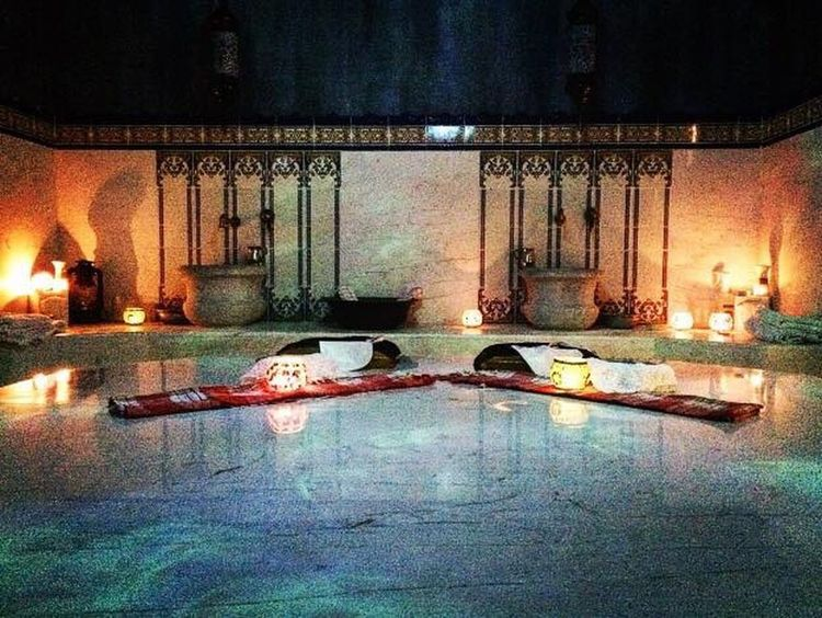 Spa Center Hamam Water Built Structure Architecture Indoors  No People Illuminated Day