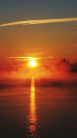 7:11 a.m. Morningmist TrentonChannel Iloveit Puremichigan Sunlovers Sunrise EyeEm Best Shots - Sunsets + Sunrise CoffeeViews Serene HeavenSliced