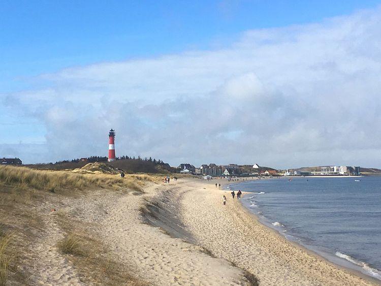Hörnum-Odde Beach Lighthouse Sylt, Germany Scenics
