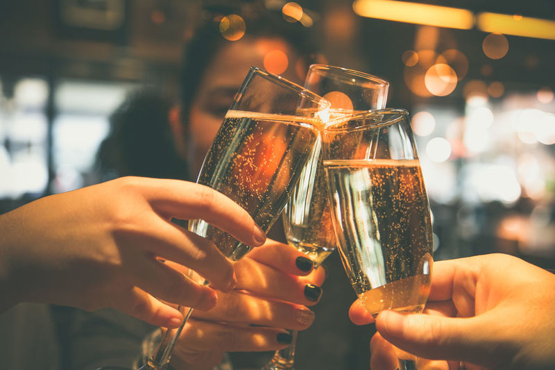 Adult Adults Only Alcohol Aperitif Bar - Drink Establishment Celebration Celebration Event Celebratory Toast Close-up Drink Drinking Glass Friendship Happy Hour Holding Human Body Part Human Hand Indoors  Party - Social Event People Pub Women Young Adult Fresh On Market 2017