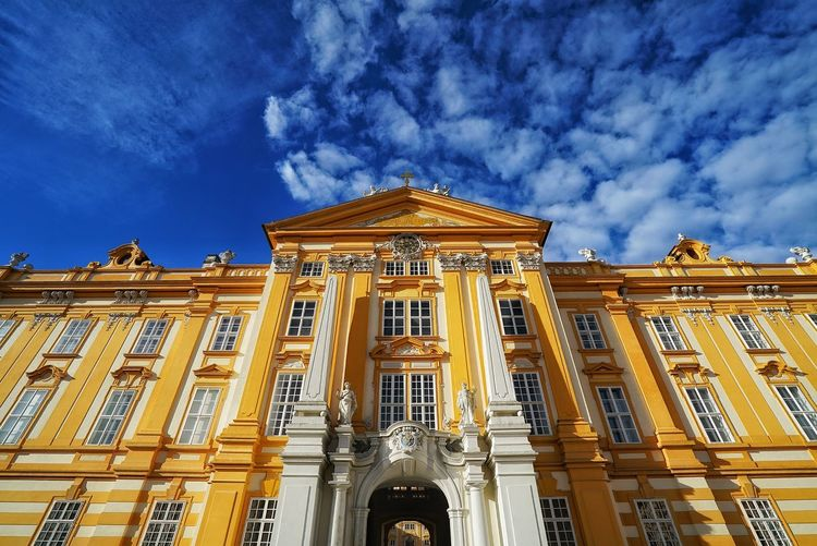 Austria Photos Melk Stift Abbey Architecture Landscape Clouds And Sky Taking Photos Cloudpark Light And Shadow Looking Up Travel Streamzoofamily The Architect - 2016 EyeEm Awards