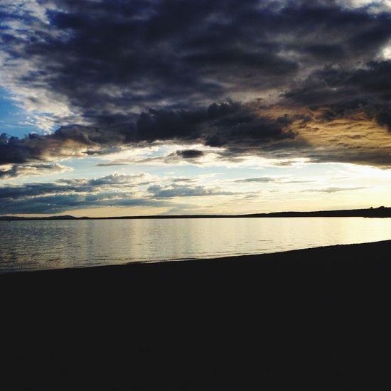 Beautiful evening. Sky