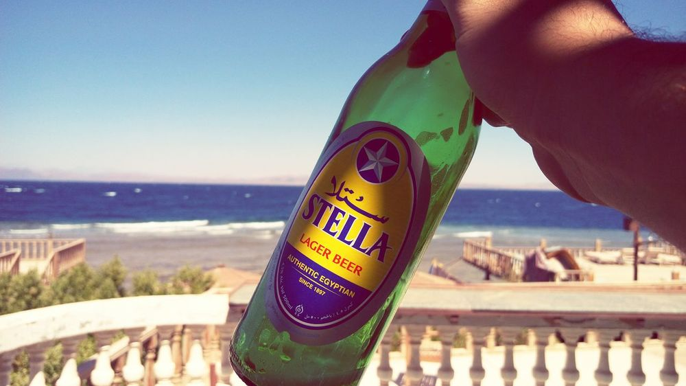 Taking Photos Hello World First Eyeem Photo Sea View Relaxing Hanging Out Check This Out Hi! Beer Stella Mobile Photography Product Photography
